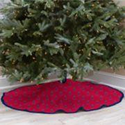 Los Angeles Angels of Anaheim Christmas Tree Skirt