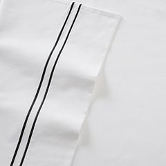 Madison Park 2-pack Embroidered 400 Thread Count Pillowcase