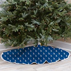 Los Angeles Dodgers Christmas Tree Skirt