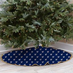 Milwaukee Brewers Christmas Tree Skirt
