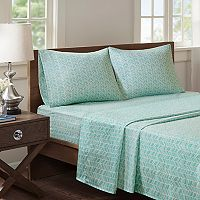 Madison Park Essentials Chevron Microfiber Sheet Set