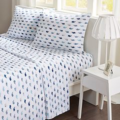 Mi Zone Whales Microfiber Sheet Set