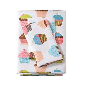 Mi Zone Cupcake Dreams Microfiber Sheet Set