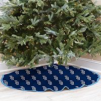 Tampa Bay Rays Christmas Tree Skirt