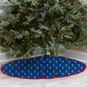 Texas Rangers Christmas Tree Skirt