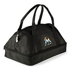 Picnic Time Miami Marlins Potluck Insulated Casserole Tote