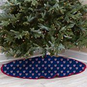 Washington Nationals Christmas Tree Skirt