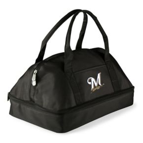 Picnic Time Milwaukee Brewers Potluck Insulated Casserole Tote