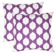 Outdoor 2-piece Reversible Oversized Throw Pillow Set
