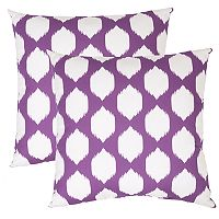 Outdoor 2-piece Reversible Oversized Throw Pillow Set