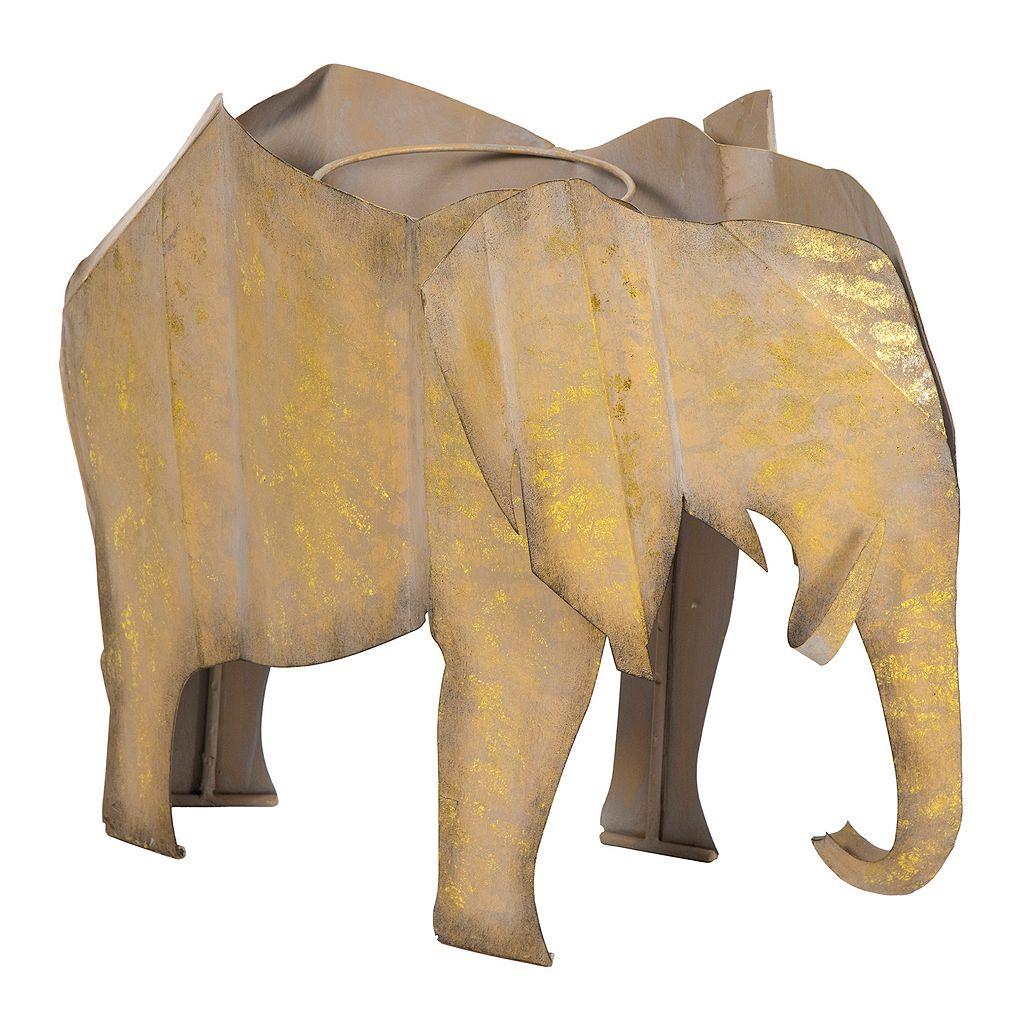 Bombay® Outdoors Steel Elephant Planter
