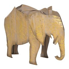 Bombay® Outdoors Steel Elephant Planter