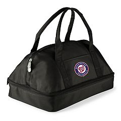 Picnic Time Washington Nationals Potluck Insulated Casserole Tote