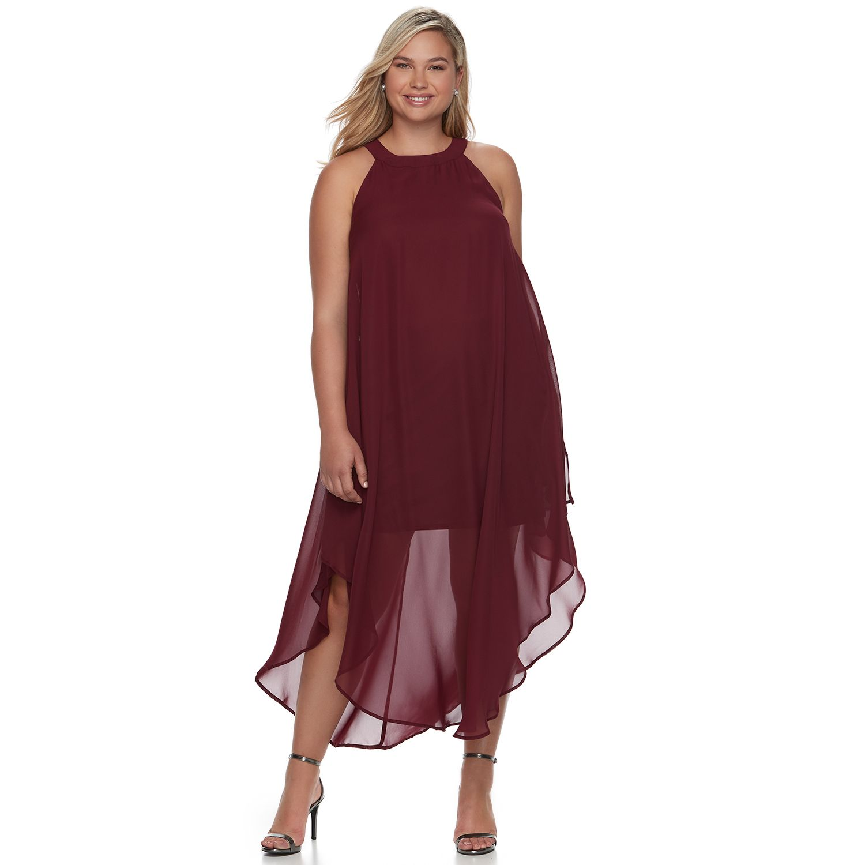 Maxi dress plus size nzone