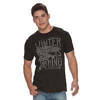 Men's Game of Thrones Winter is Coming House of Stark Tee