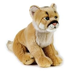 National Geographic Mountain Lion Plush by Lelly