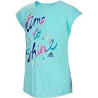 Girls 7-16 adidas Short Sleeve Shine Graphic Tee