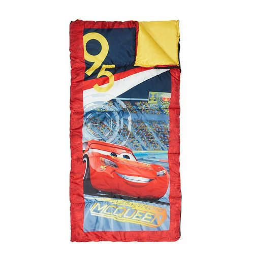 Disney Pixar Cars 3 Lightning Mcqueen Sleeping Bag By