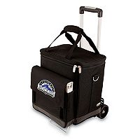 Picnic Time Colorado Rockies Cellar Insulated Wine Cooler & Hand Cart