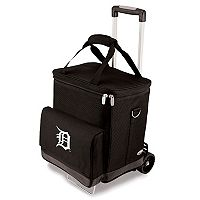Picnic Time Detroit Tigers Cellar Insulated Wine Cooler & Hand Cart