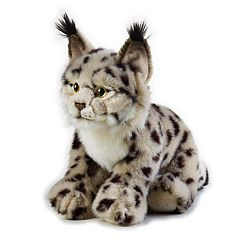 National Geographic Lynx Plush by Lelly