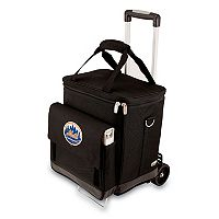 Picnic Time New York Mets Cellar Insulated Wine Cooler & Hand Cart