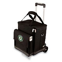 Picnic Time Oakland Athletics Cellar Insulated Wine Cooler & Hand Cart