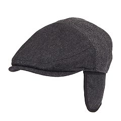 Men's Dockers® Wool-Blend Watchman Ivy Cap with Earflaps