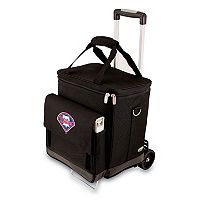 Picnic Time Philadelphia Phillies Cellar Insulated Wine Cooler & Hand Cart