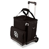 Picnic Time San Diego Padres Cellar Insulated Wine Cooler & Hand Cart