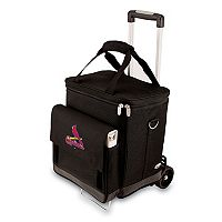 Picnic Time St. Louis Cardinals Cellar Insulated Wine Cooler & Hand Cart