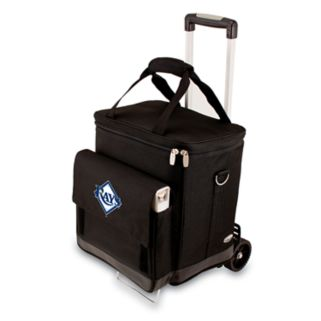 Picnic Time Tampa Bay Rays Cellar Insulated Wine Cooler & Hand Cart