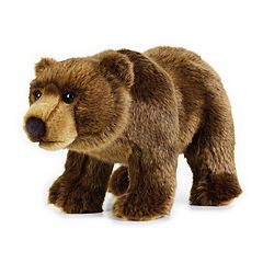 National Geographic Grizzly Bear Plush by Lelly