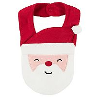 Baby Carter's French Terry Santa Bib