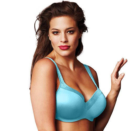dc883a0f4e3ab Playtex Secrets Bra  Body Revelation Jacquard Full-Figure Balconette Bra  4823
