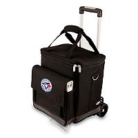 Picnic Time Toronto Blue Jays Cellar Insulated Wine Cooler & Hand Cart