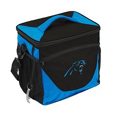 Logo Brand Carolina Panthers 24-Can Cooler