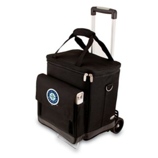 Picnic Time Seattle Mariners Cellar Insulated Wine Cooler & Hand Cart