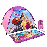 Disney Princess 4 pc The Adventure Is On Camping Set by Exxel Outdoors