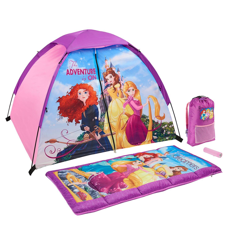 The Adventure Is On C&ing Set by Exxel Outdoors  sc 1 st  Kohlu0027s & Disney Princess 4-pc. The Adventure Is On Camping Set by Exxel ...