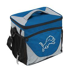 Logo Brand Detroit Lions 24-Can Cooler