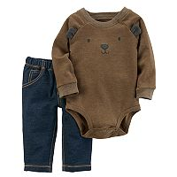 Baby Boy Carter's Bear Bodysuit & Pants Set