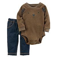 Baby Boy Carter's Bear Bodysuit & Pants Set