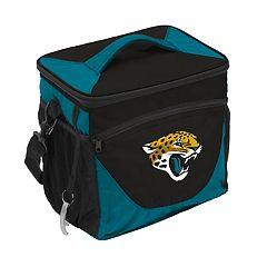 Logo Brand Jacksonville Jaguars 24-Can Cooler