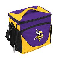 Logo Brand Minnesota Vikings 24-Can Cooler