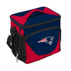 Logo Brand New England Patriots 24-Can Cooler