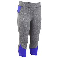 Girls 4-6x Under Armour Pinnacle Colorblock Capri Leggings