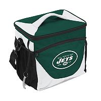 Logo Brand New York Jets 24-Can Cooler