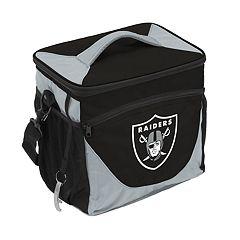 Logo Brand Oakland Raiders 24-Can Cooler