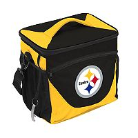 Logo Brand Pittsburgh Steelers 24-Can Cooler